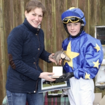 Novice Pony Racing presentation